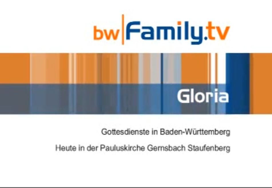 2009 Gloria Family TV Godi Staufenberg